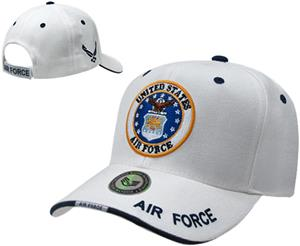 Rapid Dominance White Air Force Military Cap