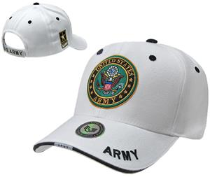 Rapid Dominance White Army Military Cap