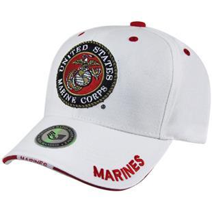 Rapid Dominance White Marines Military Cap