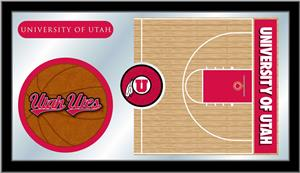 Holland University of Utah Basketball Mirror