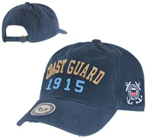Vintage Athletic Coast Guard Military Cap