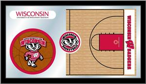 Holland University of Wisconsin Basketball Mirror