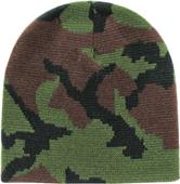 Rapid Dominance Camo Beanies Watch Caps Short