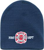 Rapid Dominance Fire Dept Law Work Knit Beanie