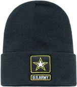 Army Star Classic Military Long Beanie