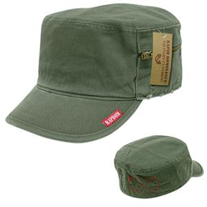 Rapid Dominance Military French Brim Hat w/Zipper