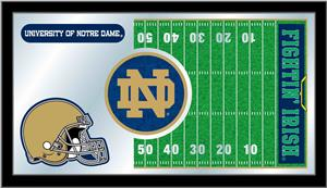 Holland University of Notre Dame Football Mirror
