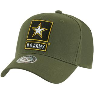 Rapid Dominance Back to the Basics Army Star Caps