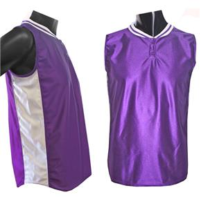 Women's Sleeveless 2 Button Softball Jerseys C/O