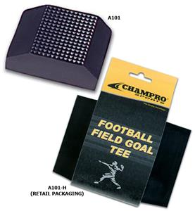 "Heavy 2"" Black Field Goal Football Tees A101"