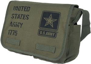 Rapid Dominance Classic US Army Messenger Pack Bag