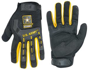 Rapid Dominance Molded Knukle Mechanics Army Glove
