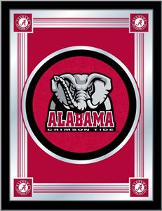 Holland University of Alabama Elephant Logo Mirror