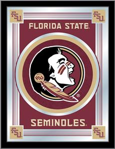 Holland Florida State University Head Logo Mirror