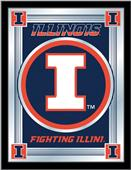 Holland University of Illinois Logo Mirror