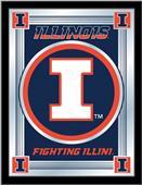 Holland University of Illinois Logo Mirror