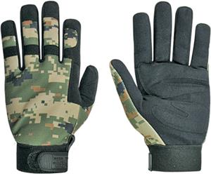 Military Digital Camo Tactical Gloves