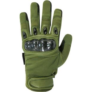 Military Carbon Fiber Knuckle Tactical Gloves