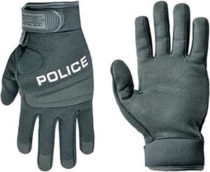 Rapid Dominance Digital Leather Duty Police Gloves