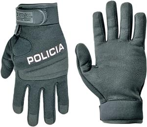 Rapid Dominance Digital Leather Duty Policia Glove