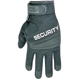 Digital Leather Duty Security Gloves