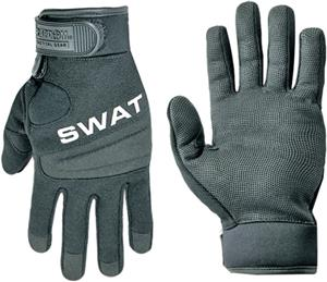 Rapid Dominance Digital Leather Duty SWAT Gloves
