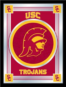 Holland Univ of Southern California Logo Mirror