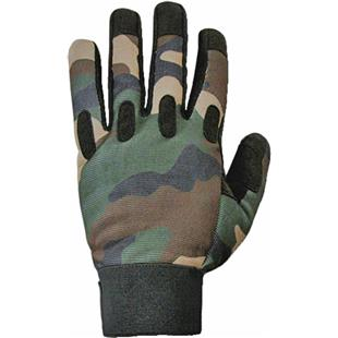 Military Camo Woodland Tactical Gloves