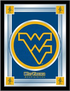 Holland West Virginia University Logo Mirror