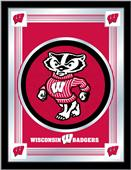 Holland University of Wisconsin Badger Logo Mirror