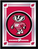 Holland University of Wisconsin Badger Logo Mirror