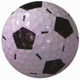 Rixstine Single - Soccer Golf Ball