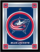 Holland NHL Columbus Blue Jackets Logo Mirror