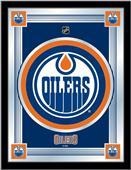 Holland NHL Edmonton Oilers Logo Mirror