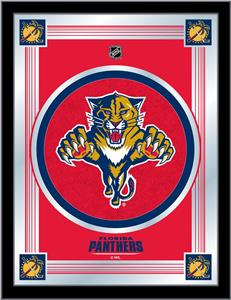 Holland NHL Florida Panthers Logo Mirror