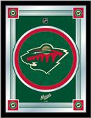 Holland NHL Minnesota Wild Logo Mirror
