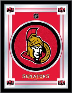 Holland NHL Ottawa Senators Logo Mirror