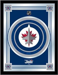 Holland NHL Winnipeg Jets Logo Mirror
