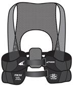 Champro AirTech Football Rib Vest