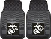 Fan Mats US Marines Heavy Duty Car Mats (set)
