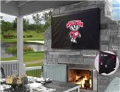 Holland Univ of Wisconsin Badger Logo TV Cover