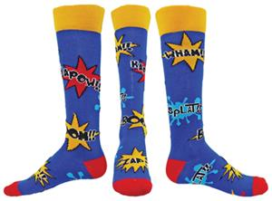 Red Lion Comics Over-the-Calf Knee High Socks