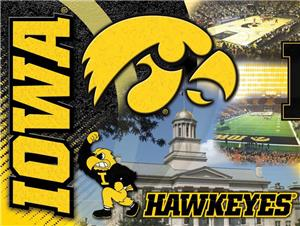 Holland University of Iowa Printed Canvas Art