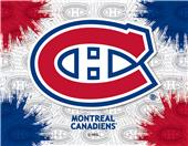 Holland NHL Montreal Canadiens Printed Canvas Art