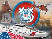 Holland Coast Guard Military Printed Canvas Art