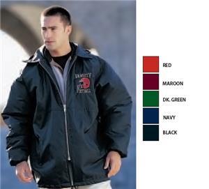 Football Jacket Coated Nylon Sideline Parka