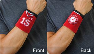 Fan Band NCAA Univ. Alabama Football Wristband