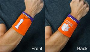 Fan Band NCAA Clemson Univ. Football Wristband