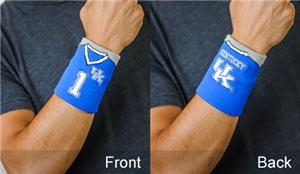 Fan Band NCAA Univ Kentucky Football Wristband
