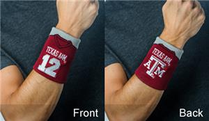 Fan Band NCAA Texas A&M Football Wristband